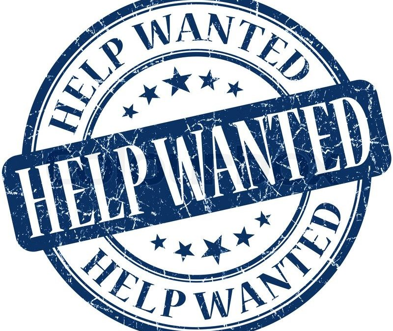 Part Time Afternoon to Evening Help Wanted